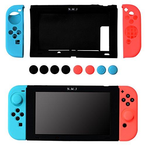 【N.M.JAPAN】 Nintendo Switch ケース シリコン カバー ソフトケース 超耐磨 高品質 保護カバー
