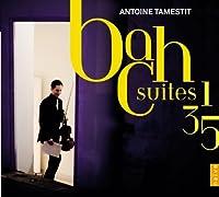 Bach: Suites 1, 3, 5 (2013-03-26)