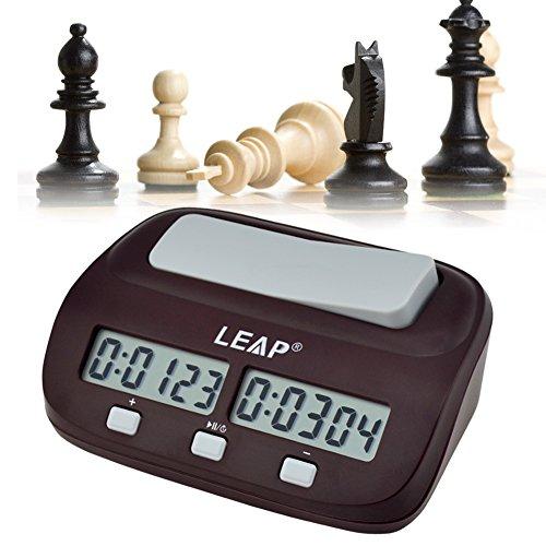 Ckeyin 対局時計 デジタル表示 チェスクロック 将棋 / 囲碁 / チェスに試合適用 ダウンタイマーとウントアップタイマーに使用できる