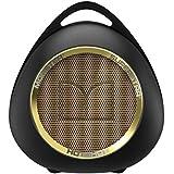 【国内正規品】Monster SUPERSTAR HOTSHOT ワイヤレスポータブルスピーカー Bluetooth NFC 対応 ブラックゴールド MH SPSTR HOT BT BKGLD