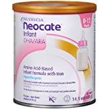 Nutricia Neocate Infant Dha/ara, Amino Acid Based with Iron Powdered Infant Formula, Unflavored, 0-12 Months 14.1 Oz (400 G)