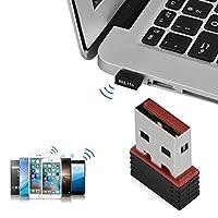 Mugast WIFI 無線LAN子機 USB2.0 300Mbps 高速 2.4GHz対応 WiFiトランスミッタレシーバ Windows Vista/XP / 2000/7およびLinux対応
