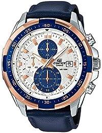 [カシオ]CASIO エディフィス EDIFICE 100m防水 クロノグラフ 本革ベルト EFR-539L-7C メンズ 腕時計 [並行輸入品]