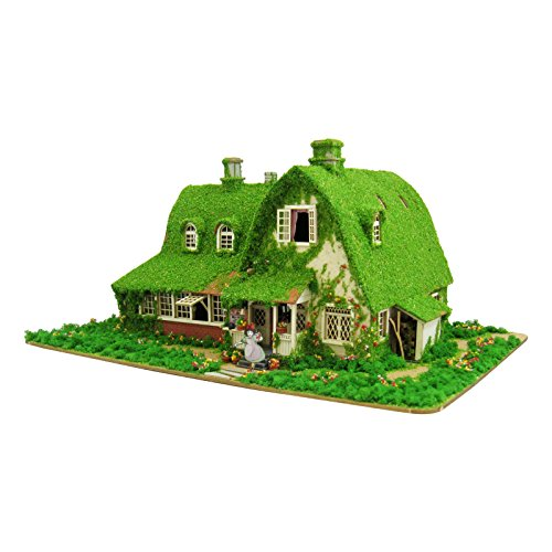 스튜디오 지브리 시리즈 마녀의 택배 키키와 지지의 집 1/150스케일 종이공예 MK07-22-MK07-22 (2015-08-30)