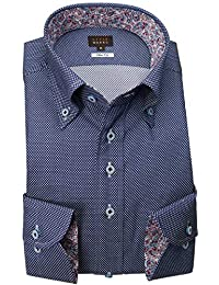 RSD178-003 (スタイルワークス) メンズ長袖ワイシャツ | 青