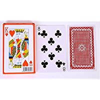 [POWIITEM] ビッグサイズ トランプ 特大 カードゲーム マジック 宴会芸 などに [ポイント付き] (2倍サイズ)
