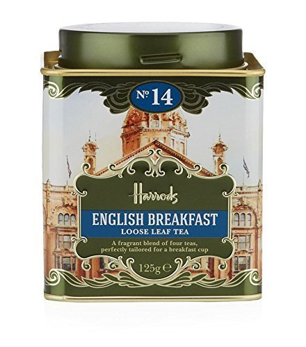 英国 Harrods (ハロッズ) No.14 イングリッシュ・ブレックファスト 紅茶 リーフ 125g English Breakfast )[海外直送品]