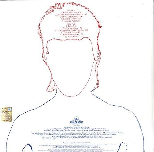 ALADDIN SANE [LP] (45TH ANNIVERSARY, SILVER COLORED VINYL, 2013 REMASTER) [12 inch Analog]