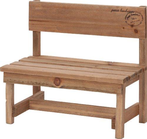 RoomClip商品情報 - 不二貿易 木製ミニベンチ インテリア ブラウン 46016