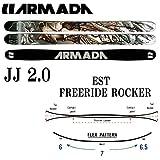 <br>15-16 アルマダ スキー板 ARMADA 2016 JJ2.0 ジェイジェイ2.0 (板のみ) パウダー フリースタイル ロッカースキー[pd滑_ski]