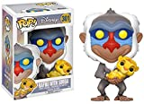 Funko - Figurine Disney Le Roi Lion - Rafiki Et Simba Pop 10cm - 0889698200950