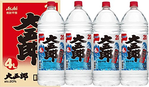 大五郎 焼酎 ペット 20度 4Lx4