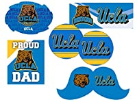UCLA Bruins Proud Dad 6 Pieceデカールセット