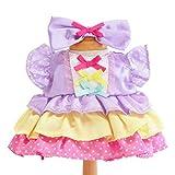 うさももドール 着せ替え人形 服 プリティドット ワンピース