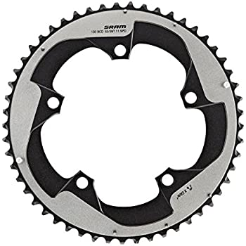 SRAM 11 Speed 110 BCD x 5Bolt 52T Bicycle Chainring Black