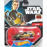 Star Wars Hot Wheels character car Canaan, Jarasu / STAR WARS HOT WHEELS CHARACTER CAR KANAN JARRUS [parallel import]