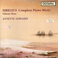 Sibelius;Cpte.Piano Music 4