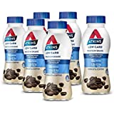 Atkins Low Carb Protein-Rich Shake Robusta Coffee Drink 330ml, Pack of 6