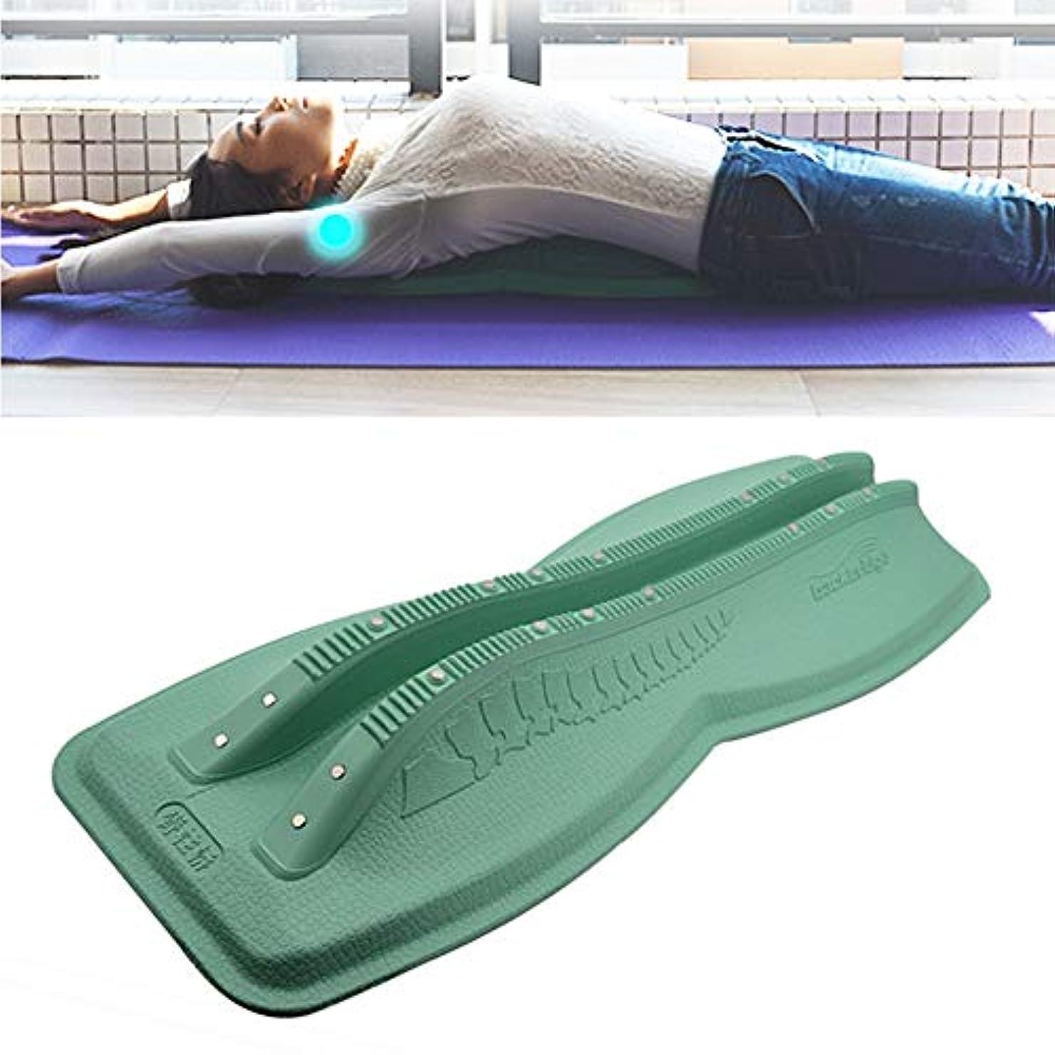 スリップ部分的三角ホームバックコレクターキャメルバックコレクター頸部腰椎マッサージ脊椎脊椎ストレッチストレッチ