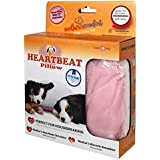 Heartbeat Pillow - (Pink and White)