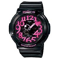 [カシオ]CASIO レディース ベビーG BABY-G ベビージー アナデジ 多機能 ブラック×ピンク 10気圧防水 BGA-130-1B 腕時計[並行輸入品]