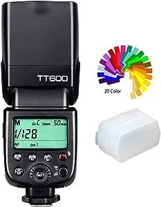 【技適マーク&日本語説明書】GODOX Thinklite TT600 フラッシュ スピードライト マスター/スレーブフラッシュ with 内蔵 2.4G ワイヤレストリガ・システムGN60 For Canon Nikon Pentax Olympus Fujifilm Compatible with AD360II-C AD360II-N TT685C TT685N Flash X1T-C/N Trigger