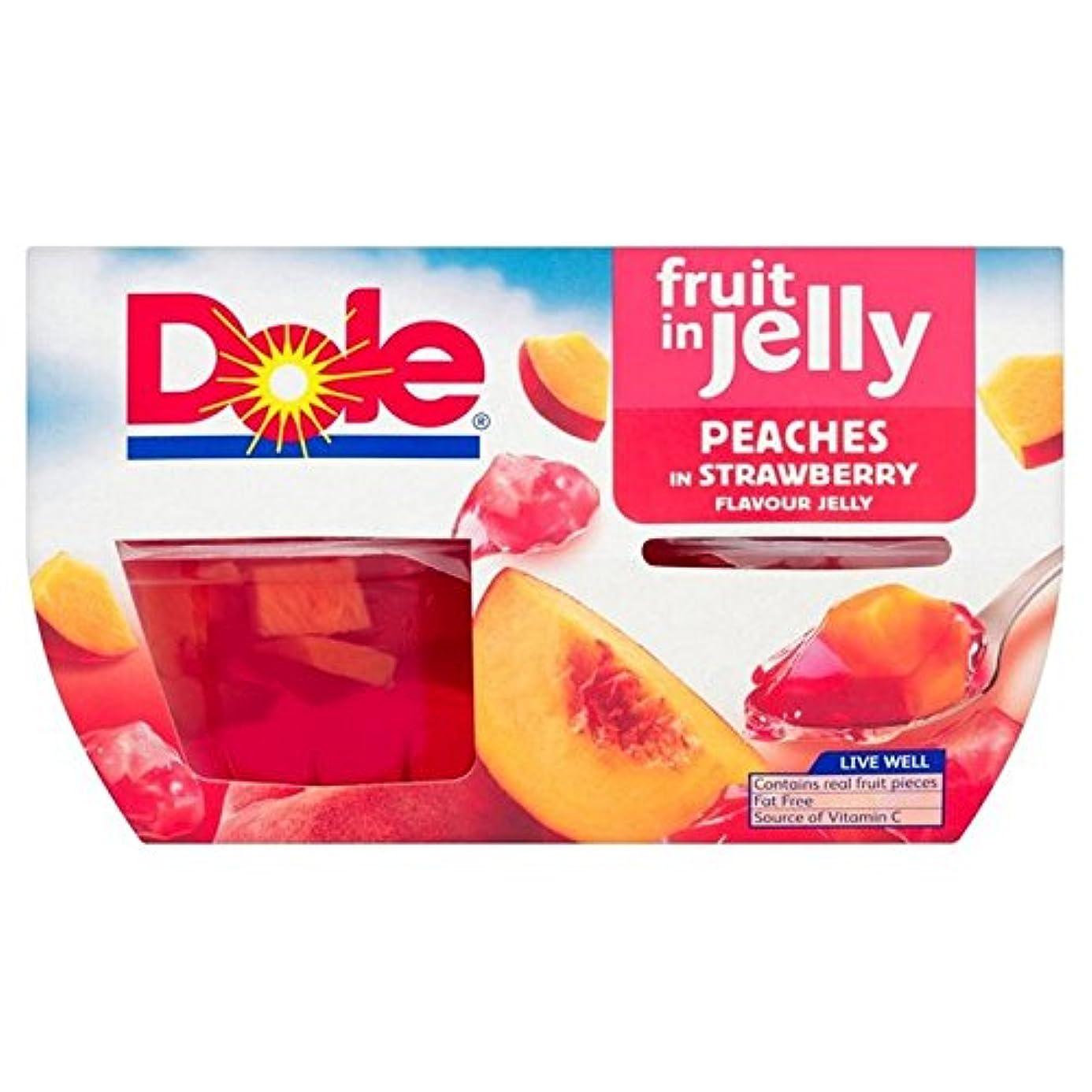 ミネラルモード打ち負かすDole Fruit in Jelly Peaches 4 x 113g - (Dole) ゼリー桃4×113グラムでフルーツ [並行輸入品]