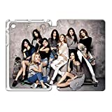 Girls' Generation 少女時代 手帳型 ケース,iPad Mini 3 (iPad Mini 第三世代) 少女時代 手帳型 ケース,スタンド 機能 合皮 超軽量 レザー iPad Mini 3 手帳型 ケース,女性のiPad Mini 3 手帳型 ケース