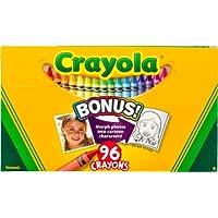 Crayola 52 – 0096 96カウントクレヨンボックスwith New Specialtyクレヨンサンプル