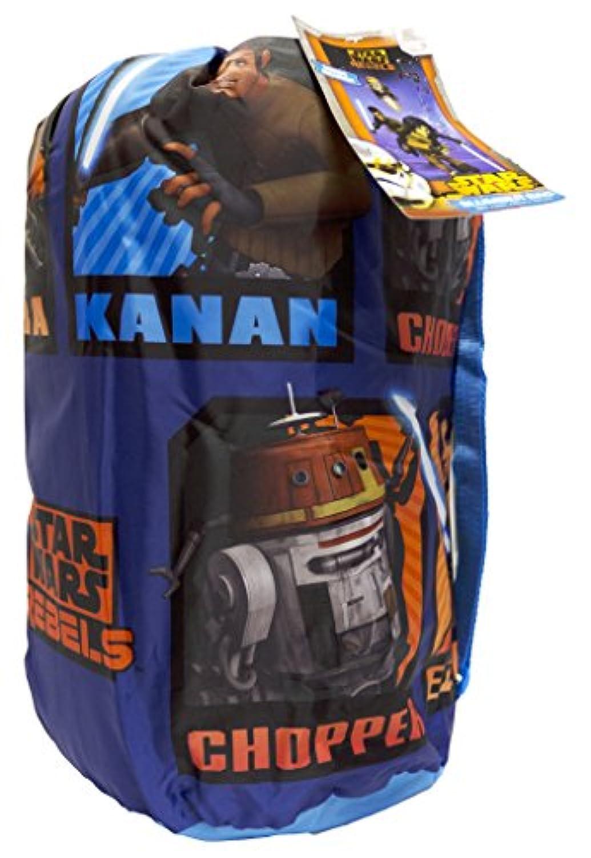 [ディズニー]Disney Star Wars Rebels Slumber Bag, Bonus Backpack with Straps, Chopper, Kanan, Ezra JF27223TRUCD [並行輸入品]