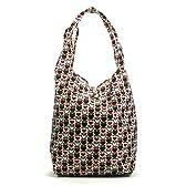 折り畳み式 防水ショッピングバッグ ハート花柄 Shopping Bag (6129-4)