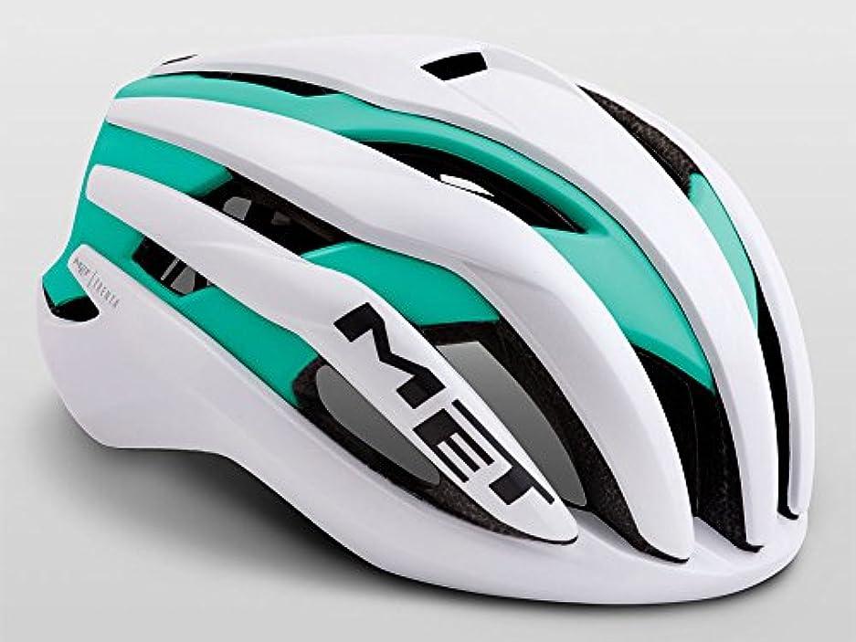 器官広大な重大MET(メット) TRENTA(トレンタ) ヘルメット ホワイトミント