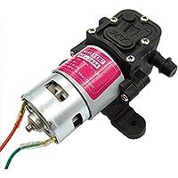 薬剤散布ドローン自作用 12Vモーター仕様の電動ポンプ 3.5L/毎分
