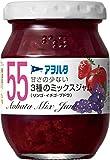 アヲハタ55 3種のミックスジャム(リンゴ・イチゴ・ブドウ) 170g×2個