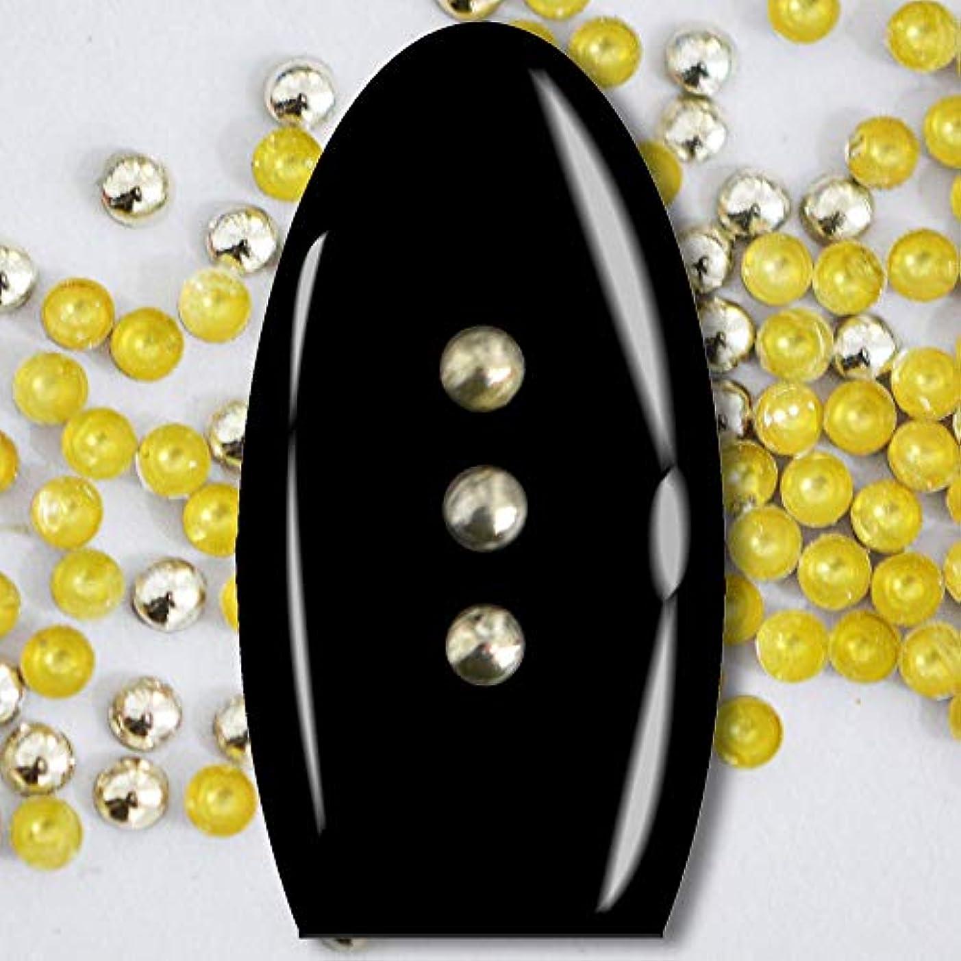 過言最初タイムリーなメタルスタッズ ネイル用 100粒 STZ020 ラウンド ライトゴールド Φ2mm ぷっくり半球型