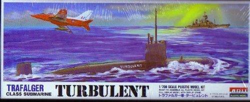 1/700 潜水艦シリーズ タービュレント
