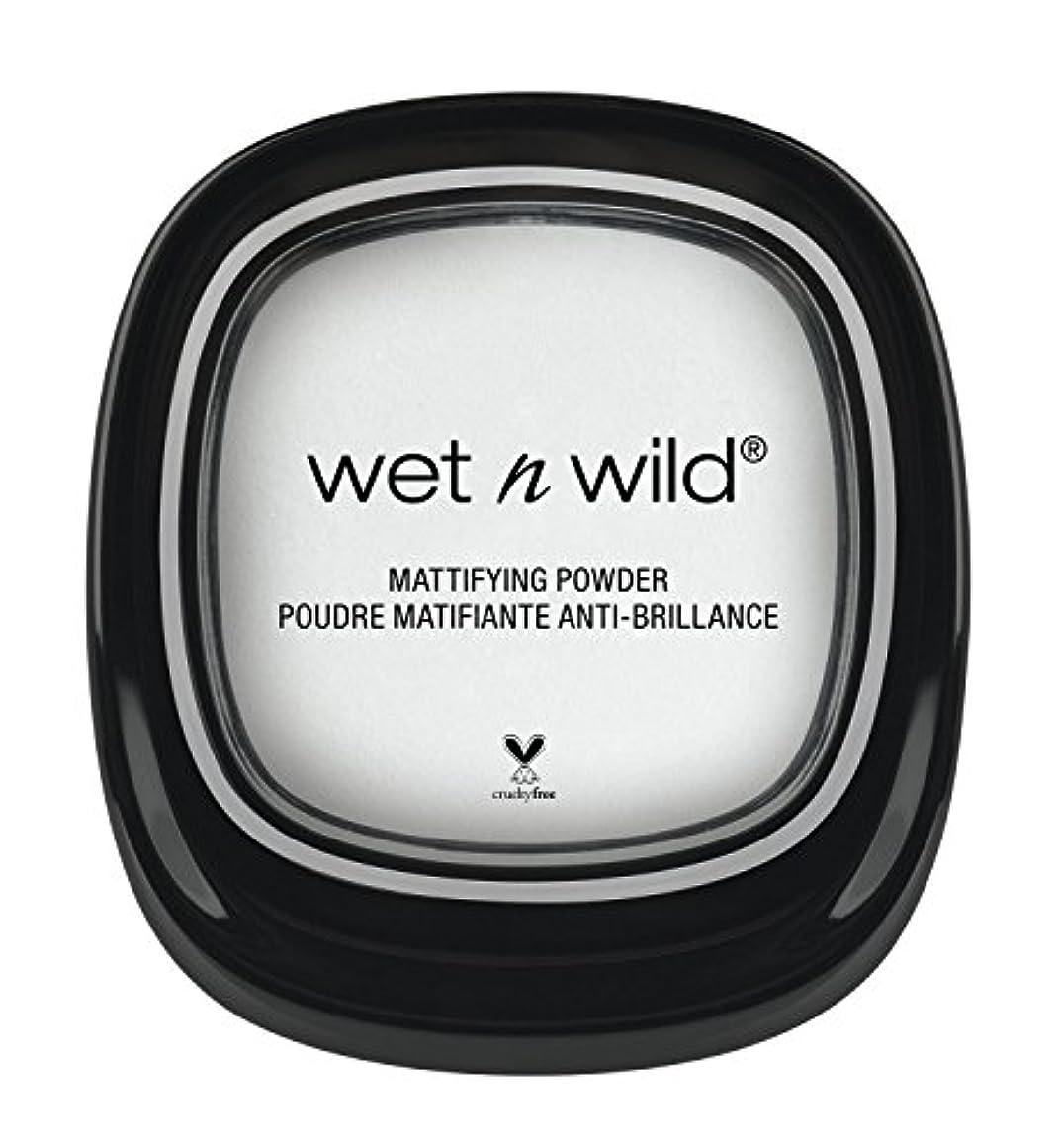 ホイストシロクマ枯渇WET N WILD Take On The Day Mattifying Powder (並行輸入品)