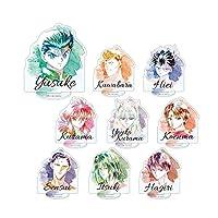 幽☆遊☆白書 トレーディング Ani-Art アクリルスタンド BOX商品 1BOX=9個入り、全9種類