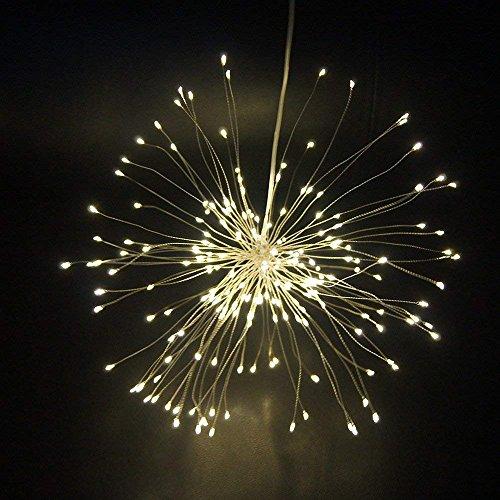 ledイルミネーションライト 花火ライト 可愛い 120個L...