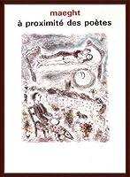 ポスター マルク シャガール A Proximite Des Poetes 1986 額装品 ウッドベーシックフレーム(ブラウン)