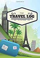 7x10 Travel Log: Europe Cover | Ruled Travellers Notebook Books Scrapbook Planner Keepsake Journal Memories | Destination Checklist | Medium Softback (World Cultures) (Volume 13)【洋書】 [並行輸入品]