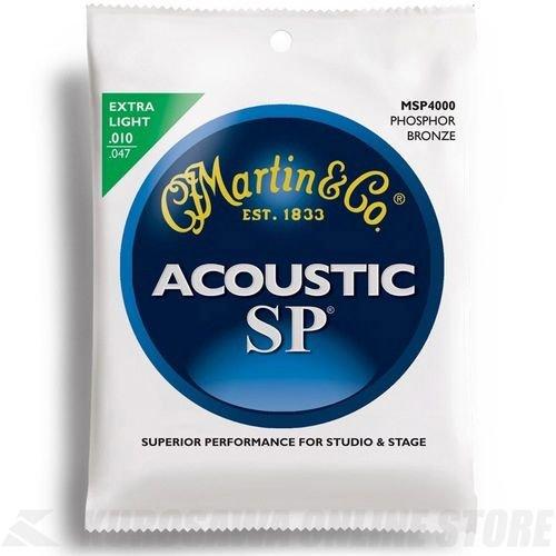 Martin アコースティックギター弦 SP ACOUSTIC?(92/8 Phospher Bronze) MSP-4000 Extra Light .010-.047