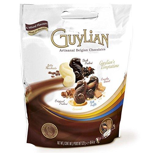 GUYLIAN ギリアン テンプテーション チョコレートアソート 522g 6種類/約54個入り ベルジャンチョコレート