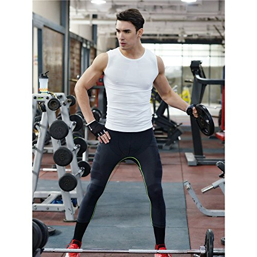 LeoSport 新発売メンズスリム型ズボンゆったりタイプ快適 骨盤矯正 姿勢矯正 抗菌 防臭 通気急速乾燥タイト七分運動ズボン (M, グレー+レッド)