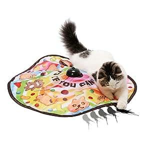 猫壱 キャッチ・ミー・イフ・ユー・キャン2 猫用電動おもちゃ スティック付き