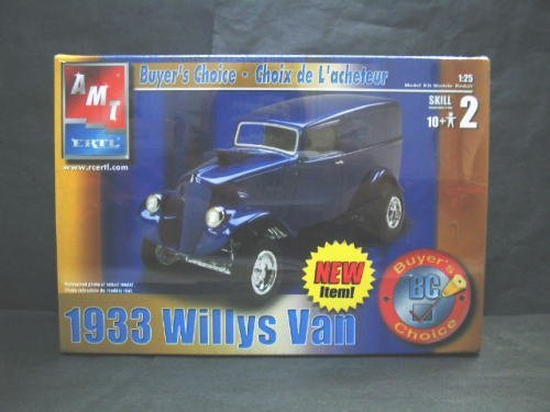 1/25scale AMT 1933 WILLYS VAN ウイリス バン