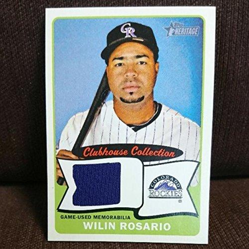ロサリオ 阪神タイガース ジャージーカード コロラド・ロッキーズ時代 MLB 2014 TOPPS 新外国人選手 ロザリオ ウィリン