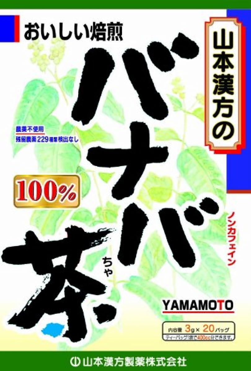 国籍尊厳傘山本漢方製薬 バナバ茶100% 3gX20H