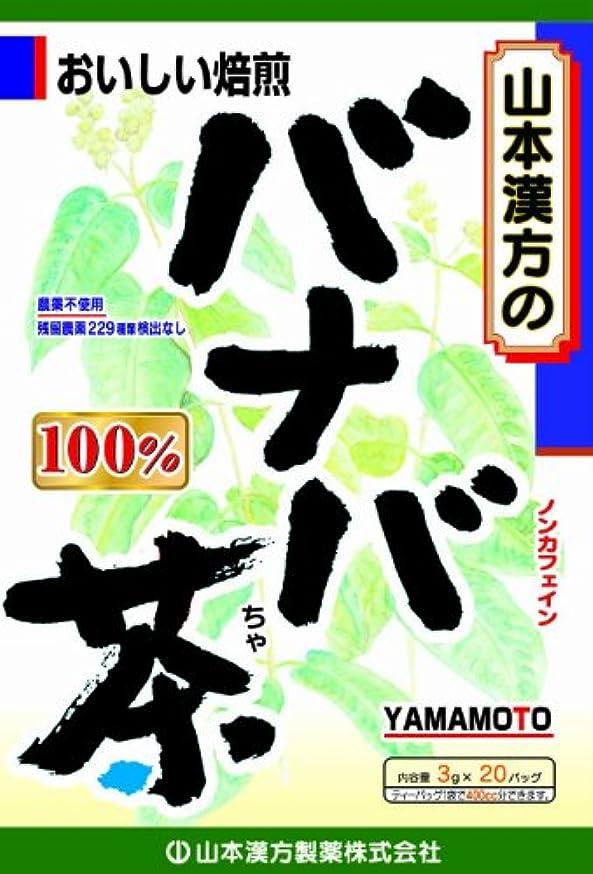 ノート円周エレメンタル山本漢方製薬 バナバ茶100% 3gX20H