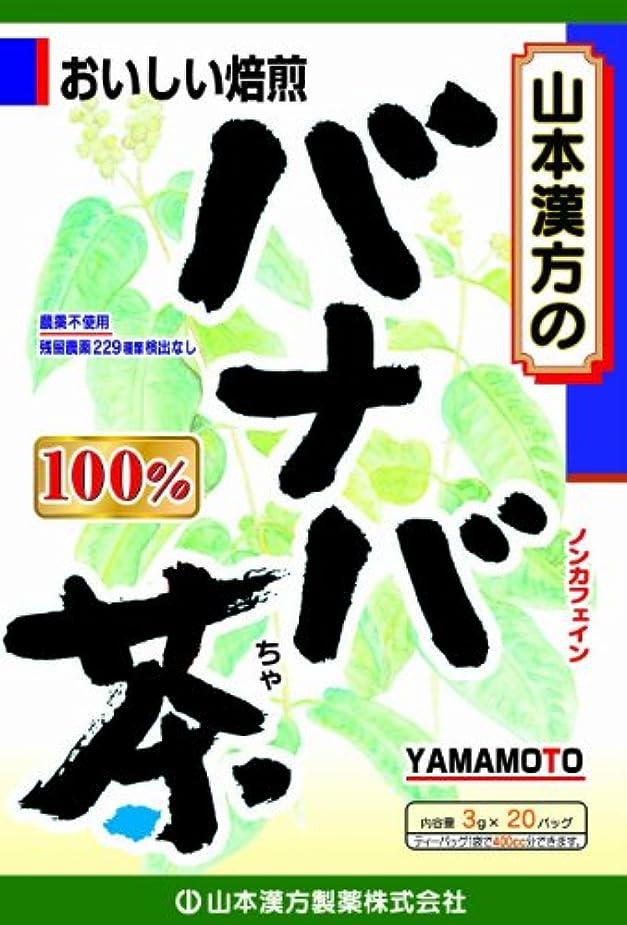 敬意インポートハロウィン山本漢方製薬 バナバ茶100% 3gX20H